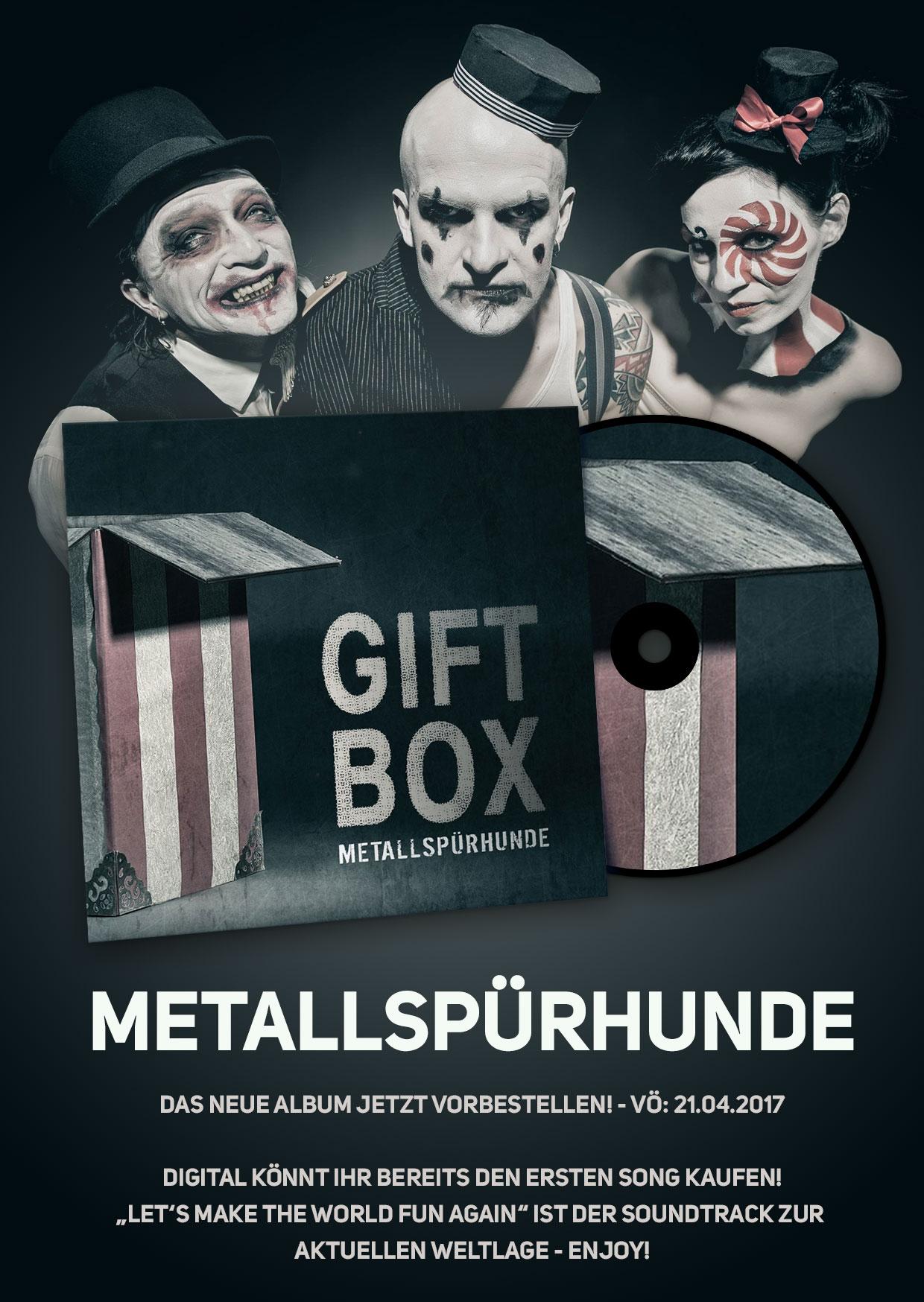 Metallspürhunde – Das neue Album