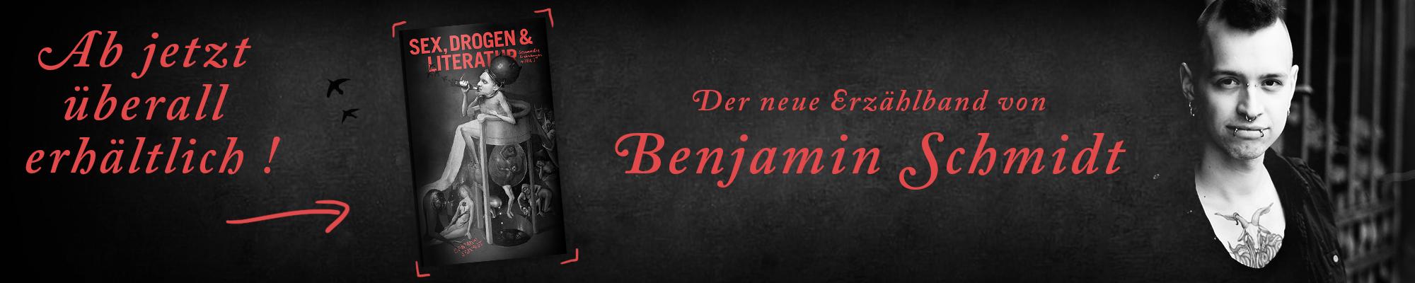 Benjamin-Schmidt-Sex-Drogen-Literatur-Banner