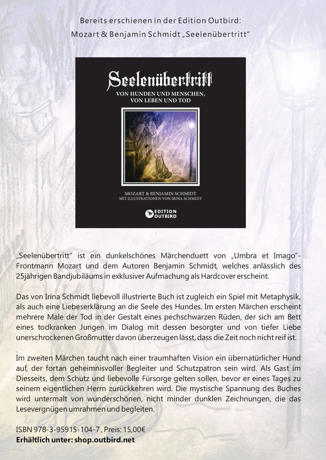 """""""Seelenübertritt"""" - ein Märchen von Mozart (Umbra et Imago) & Benjamin Schmidt"""