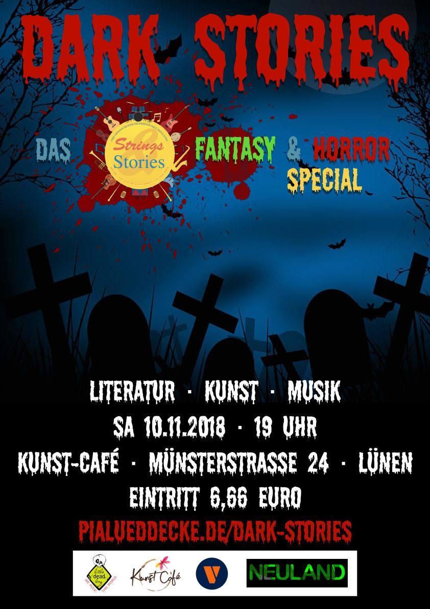 Dark Stories · Fantasy- und Horrorabend
