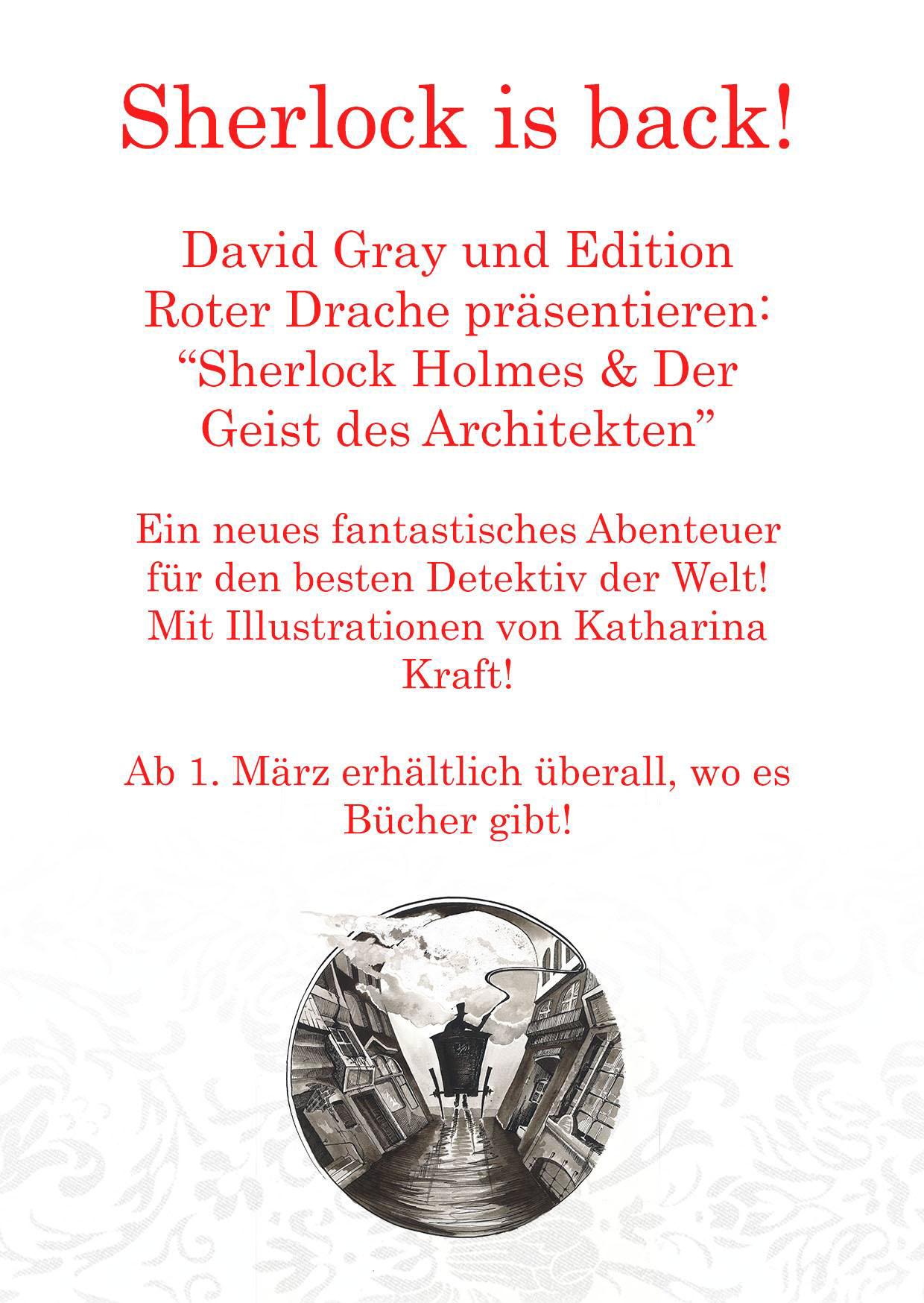 David Gray: Der neue Kriminalroman!